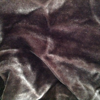 Velours de soie chocolat