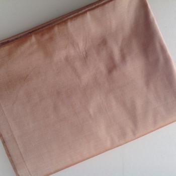 00131 Etole en soie sauvage beige poudré disponible immédiatement