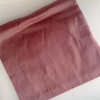 00132 Etole en soie sauvage cuivre rosé disponible immédiatement