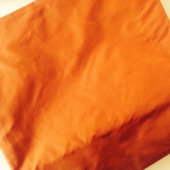 Etole en taffetas de soie orange moiré disponible immédiatement