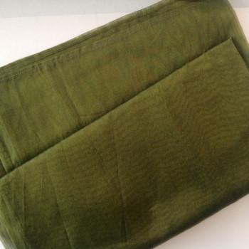 0034 Etole en organza de soie vert mousse disponible immédiatement
