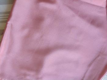 0016 Etole en crêpe de soie vieux rose disponible immédiatement