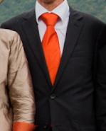 Cravate en satin duchesse de soie