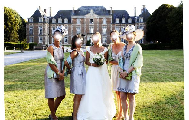bridesmaids grises