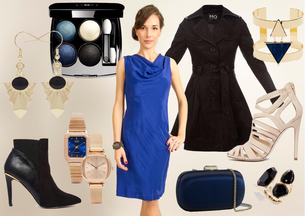 Quelle veste avec une robe bleu turquoise