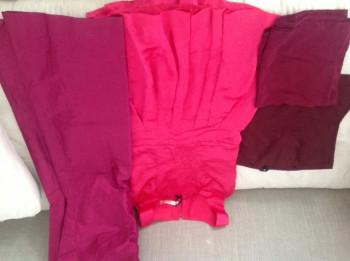 lot de vêtements pour coupons -rose/violine-