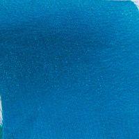 62 crêpe de soie bleu pétrole