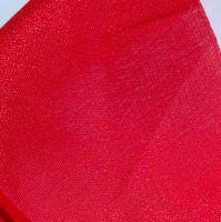 36 mousseline de soie rouge