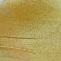 85 crêpe de soie jaune moutarde