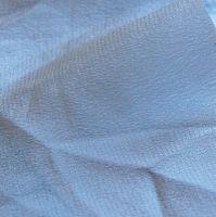 0031 Etole en crêpe de soie gris perle disponible immédiatement