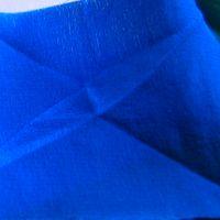 721 crêpe de soie bleu roi