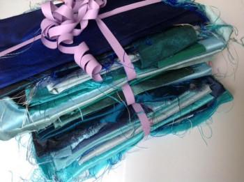 7 Chutes bleues et verts d'eau