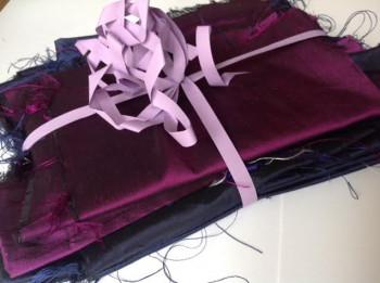 8 Chutes violettes et bleues foncées