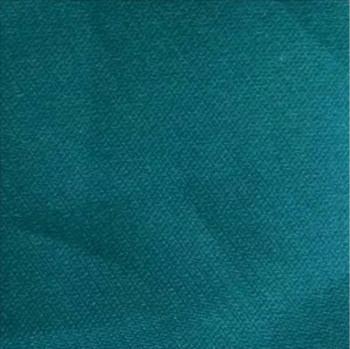 12 organza de soie bleu canard