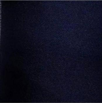 16 organza de soie bleu marine
