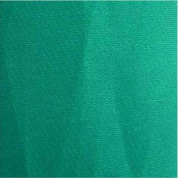 11 organza de soie bleu vert