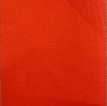 22 organza de soie corail vif