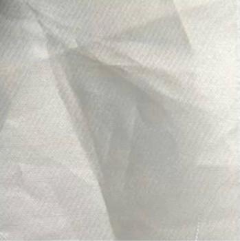 05 organza de soie gris argent