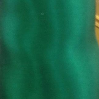 12 satin de soie vert sapin