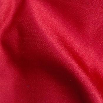 satin duchesse de soie 925 pur rouge