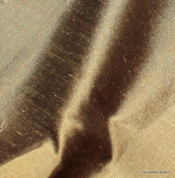 soie sauvage 9714 bronze vieilli