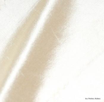 soie sauvage 007 blanc antique