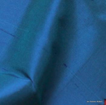 soie sauvage 5800 bleu océan