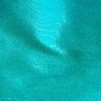 soie sauvage 7400 bleu-vert