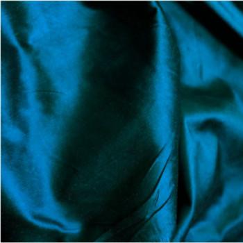 soie sauvage 5507 bleu pétrole