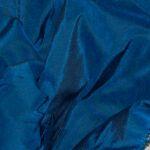 soie sauvage 5506 bleu paon