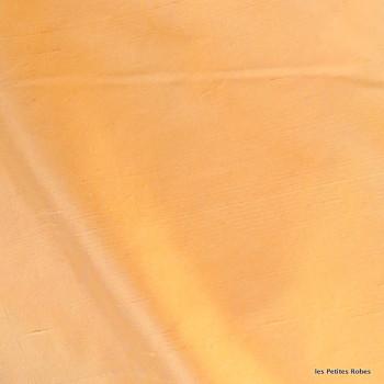 soie sauvage 037 orange givrée