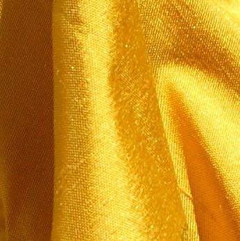 soie sauvage 036 jaune doré