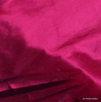 soie sauvage 064 framboise