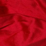 soie sauvage 053 pur rouge