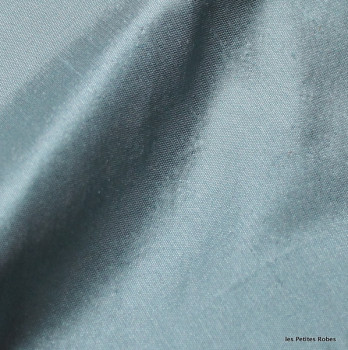 soie sauvage 9911 bleu minéral